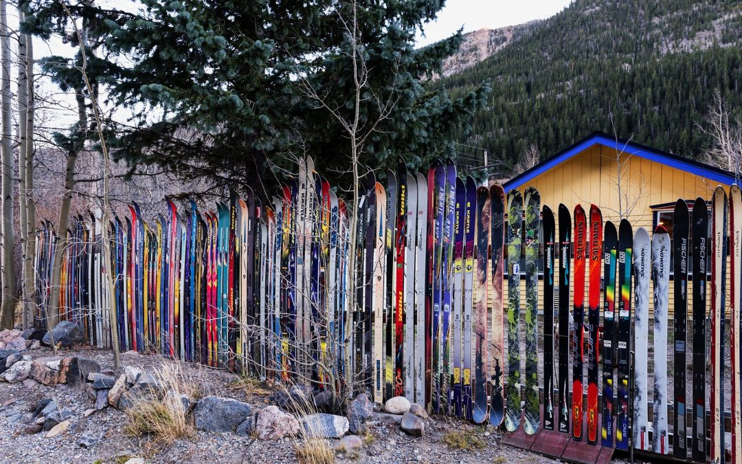Cannabis und Skifahren in Colorado.