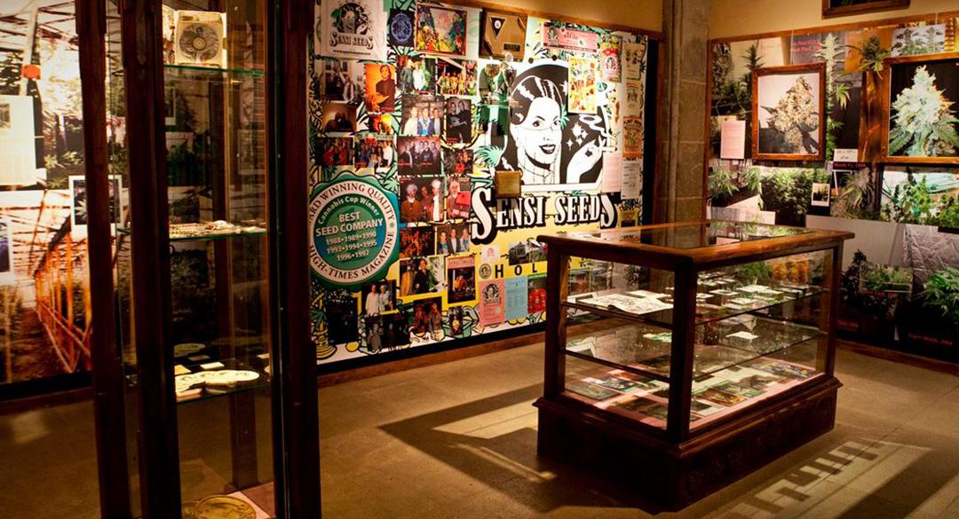 Das Hash Marihuana & Hemp Museum in Amsterdam.